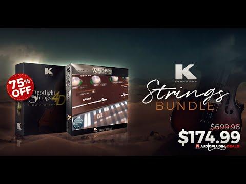 75% OFF Kirk Hunter Studios Strings Bundle (Virtuoso Ensembles & Spotlight Strings 4D)