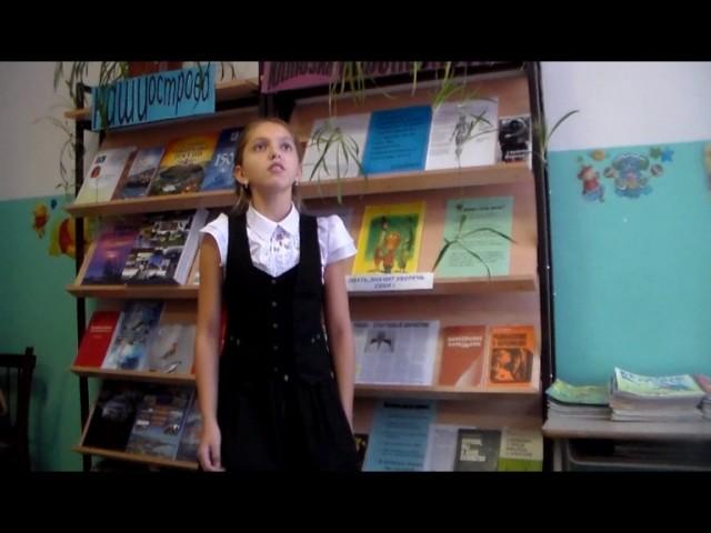 Изображение предпросмотра прочтения – ДарьяКемешева читает произведение «Ворона и Лисица» И.А.Крылова
