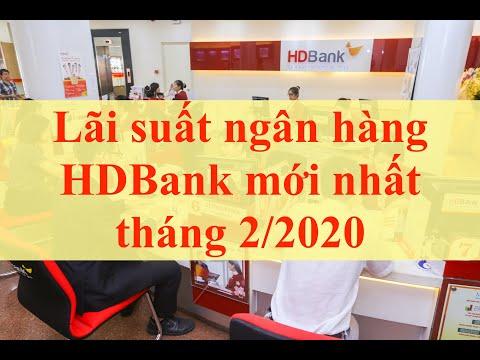 Lãi Suất Ngân Hàng HDBank Mới Nhất Tháng 2/2020