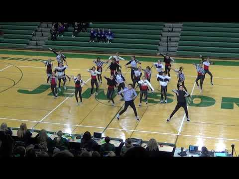 Rockford Middle School Competitive Dance Team 2018-2019 HIP HOP ROUTINE