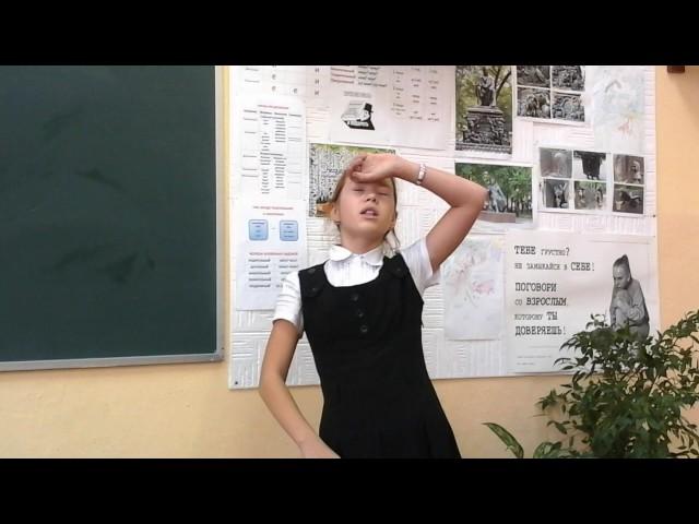 Изображение предпросмотра прочтения – ДарьяСмирнова читает произведение «Обезьяна и зеркало» И.А.Крылова
