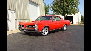 1966 Pontiac GTO Custom in Orange Paint & Engine Sound on My Car Story with Lou Costabile