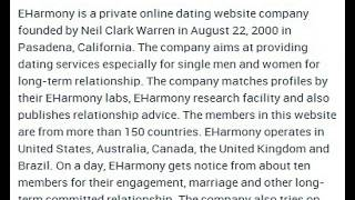 Eharmony Corporate Office Contact Information Thumbnail