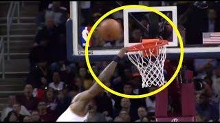 Lebron James Missed Dunks Compilation  in NBA Video