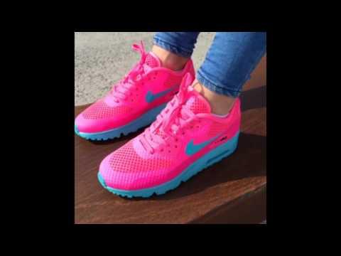 Nike Junior Air Max 90 BR Pink Blast Gamma Blue