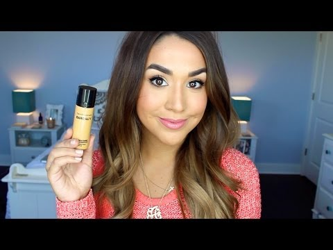 Bare Minerals Bareskin Liquid Foundation Review & Demo | Alexandrea Garza