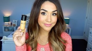 Bare Minerals bareSkin Liquid Foundation Review & Demo