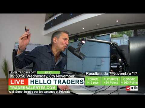 # Hello Traders émission du 08/11/17