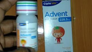 Advent Dry Syrup full review in Hindi बच्चों के लिए Best और safest एंटीबायोटिक !