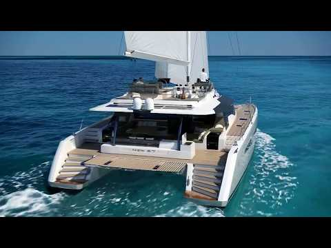 NEW 67 Fountaine Pajot - Discover the new luxury sailing catamaran