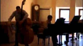 Flight of the Bumble Bee (contrabass, piano)