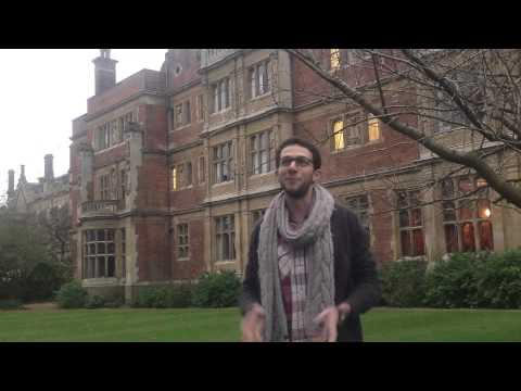 Youssef, student-engineer, one-year exchange with Cambridge University, UK