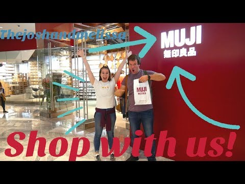 MUJI STORE - New York City Shop With Me!