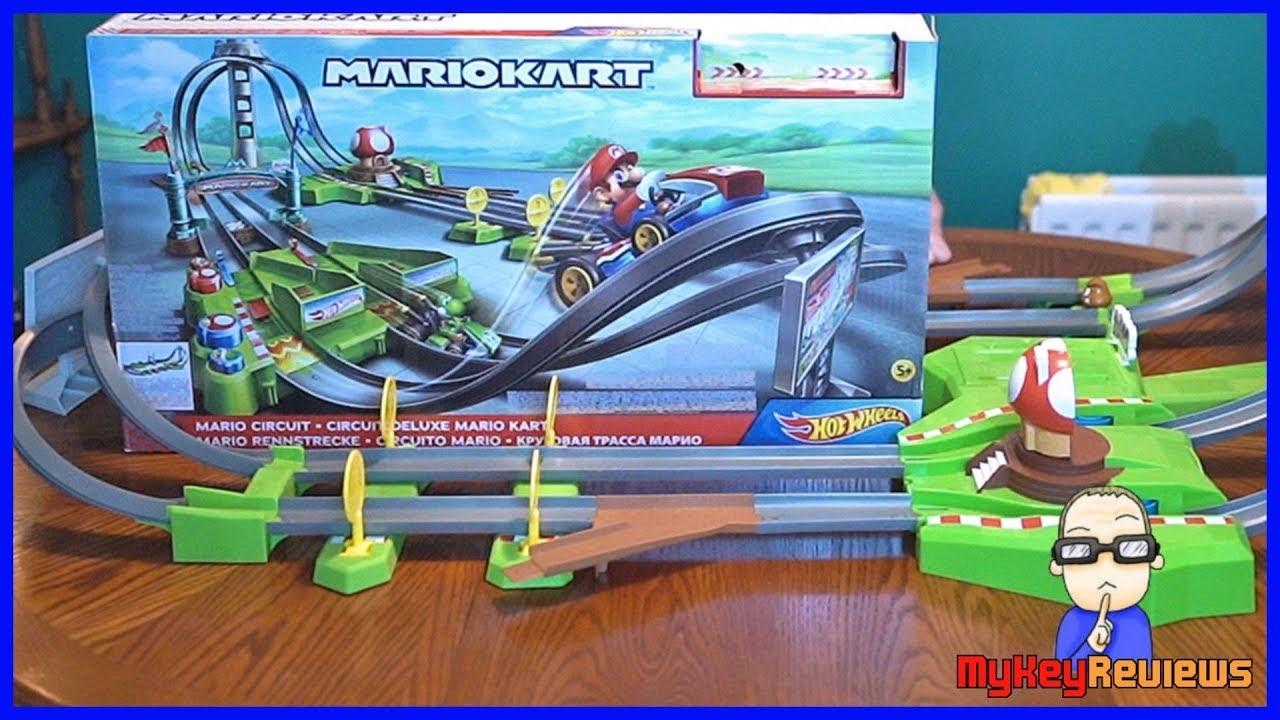 Hot Wheels Ultimate Mario Kart Racetrack Mario Kart Circuit Track Set