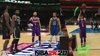NBA 2K20 MyCareer Three Point Contest!