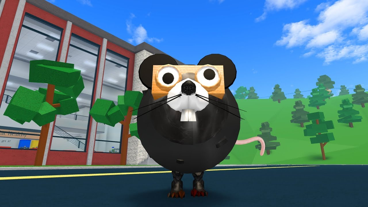 HOW TO BE A GIANT BLACK RAT IN ROBLOXIAN HIGHSCHOOL!!