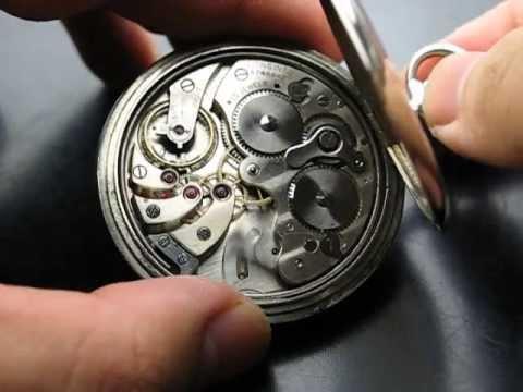 Longines alarm pocket watch cal.19.65