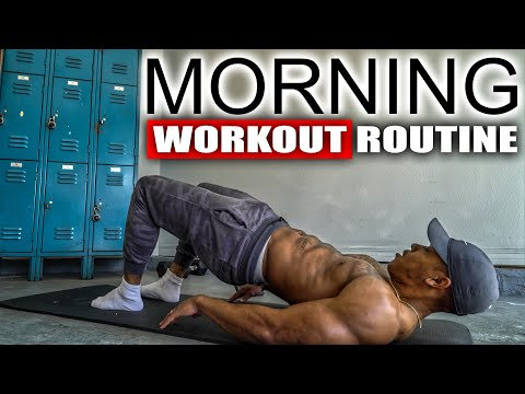 5 MINUTE MORNING WORKOUT (NO EQUIPMENT)