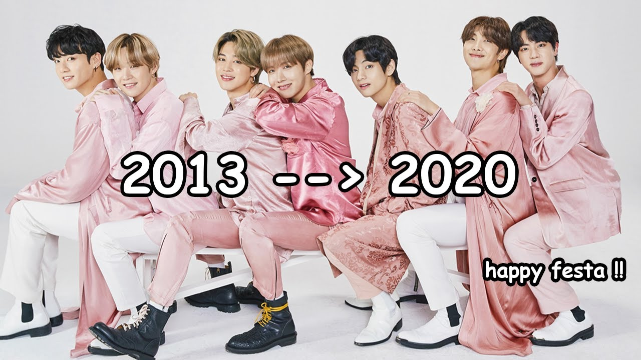 7 years of bts in a nutshell