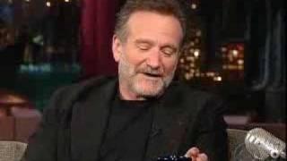 Robin Williams on Letterman Part 3