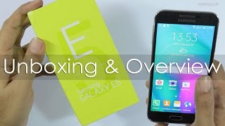 Samsung Galaxy E5 Unboxing & Hands On Overview