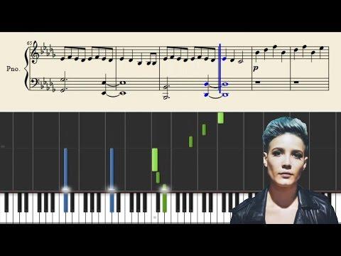 Halsey - Control - Piano Tutorial + Sheets