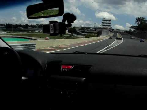 Bmw 328ci And Fiat Stilo Abarth At The German Highway 2