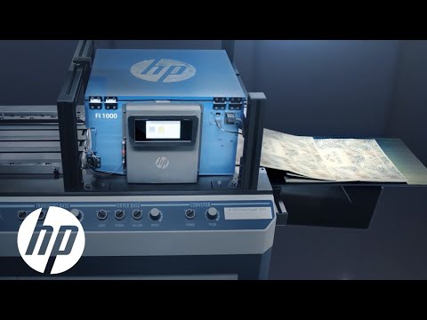 HP OEM FI-1000 For Specialty Packaging   HP Print   HP