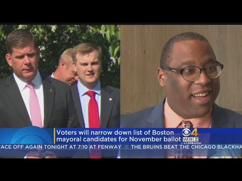 Boston, Framingham, Lawrence Hold Preliminary Elections For Mayor