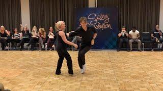 Joel Torgeson & Deborah Székely- 1st in Inv. Jack & Jill - Swing Resolution 2020 - West Coast Swing