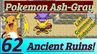 Pokemon Ash-Gray Part 62 Pokemopolis City Ancient Ruins, Jigglypuff Song & Eve Gave Dome Fossil
