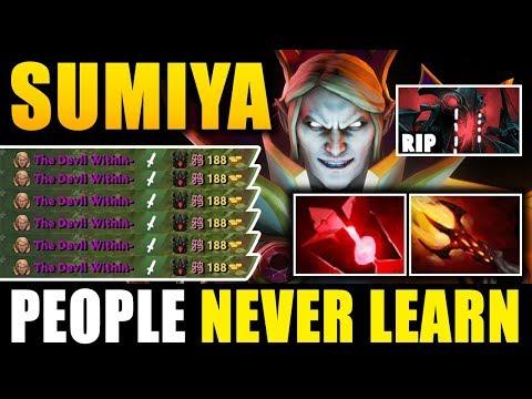 SumiYa - Picking SF Against  Invoker God Ppl Nerver learn Pro gameplay 7.11 Dota 2