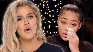 Khloe Kardashian Slams Jordyn Woods For Fake Tears On Red Table Talk | Hollywoodlife