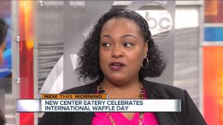 Celebrating International Waffle Day with New Center Eatery