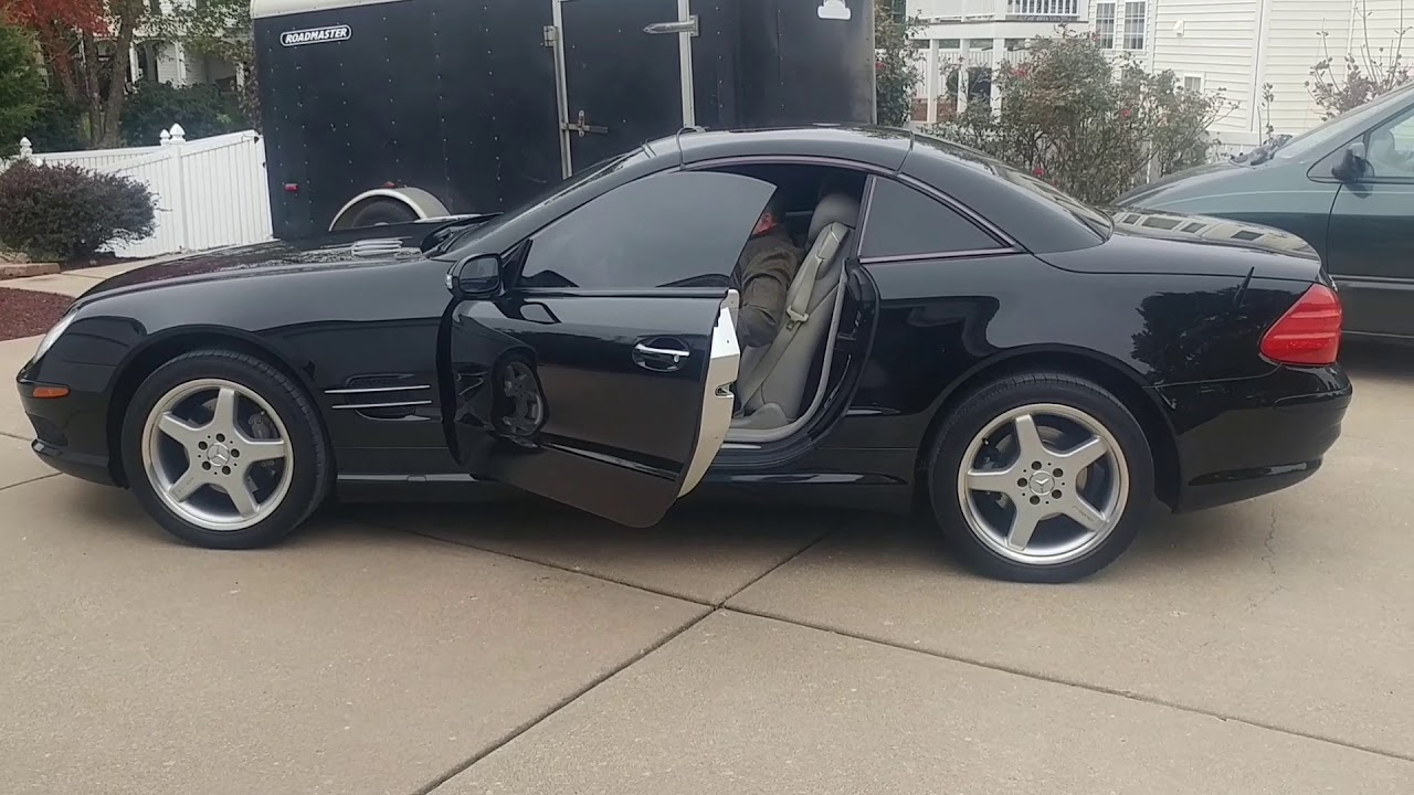 2003 mercedes benz sl500 for sale by auction [ 1280 x 720 Pixel ]
