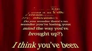 Eminem Ft. Rihanna - The Monster Lyrics video