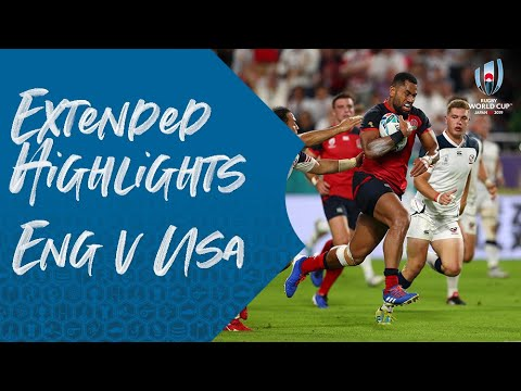 Extended Highlights: England 45-7 USA - Rugby World Cup 2019