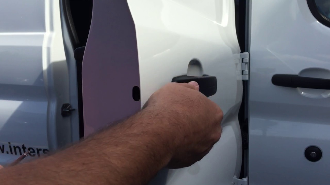 Ford Transit Door Handle Removal - YouTube