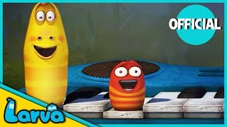 larva - funny animation  the larvas concert  cartoons for children  larva official