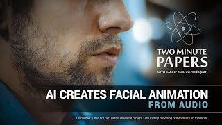 AI Schafft Gesichts-Animation Von Audio - | Zwei-Minute-Papers #185