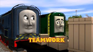 Teamwork 🎵 | Trainz Music Video | Thomas & Friends