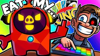 Uno Funny Moments - The All New Al Wildcat Bot!
