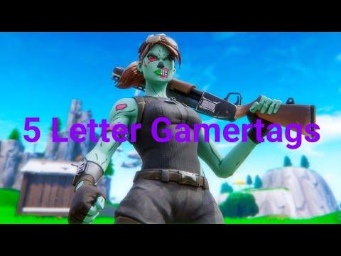 Clean OG 5 Letter Fortnite Gamertags Not Taken 2019 (Xbox/PS4) Pt 22