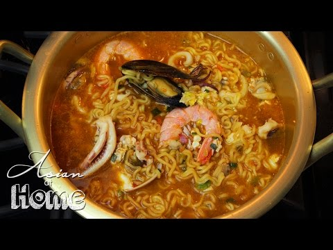 Korean Seafood Ramen
