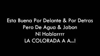 Los Pibes Chorros     La Colorada  Letra