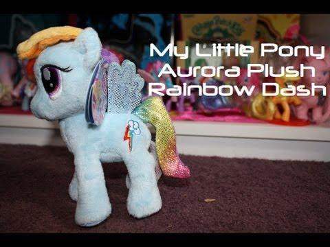 My Little Pony: Aurora Plush 6.5 Inch - Rainbow Dash