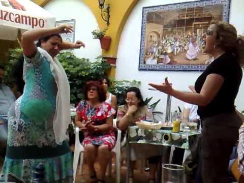 Carmen Ledesma en Torres Macarena