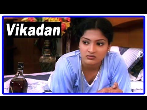 Vikadan Tamil Movie | Scenes | Gayathri Raghuram make calls to Harish Raghavendra's office | Uma