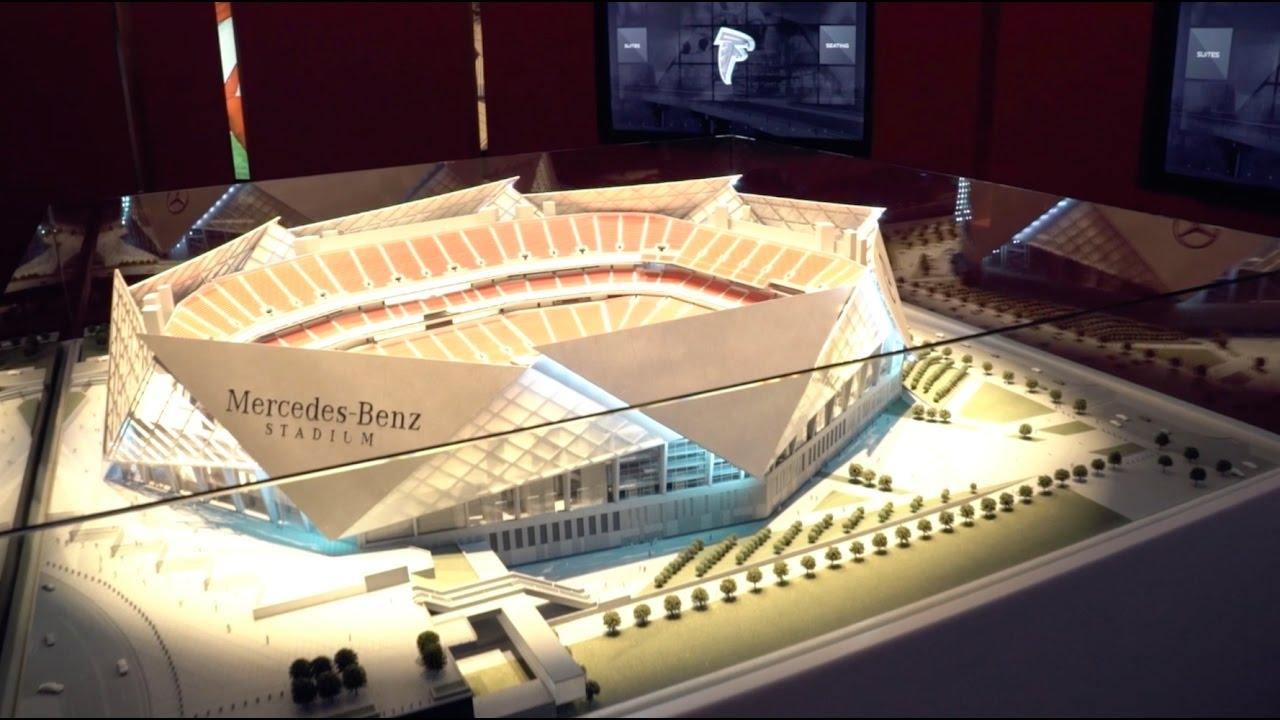 Sales update walk through the mercedes benz stadium for Mercedes benz stadium suites