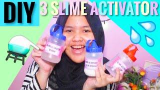DIY 3 SLIME ACTIVATOR! || Cara membuat slime activator.